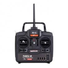 乐迪2.4G T4EU-6六通固定翼遥控器