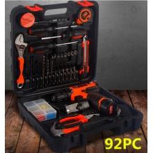 12V锂电池充电式电钻组套 组合工具 电动螺丝刀礼品五金工具套装 举报
